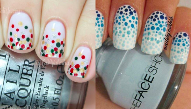 16 Really Cute And Easy Polka Dot Nail Designs Womanistic