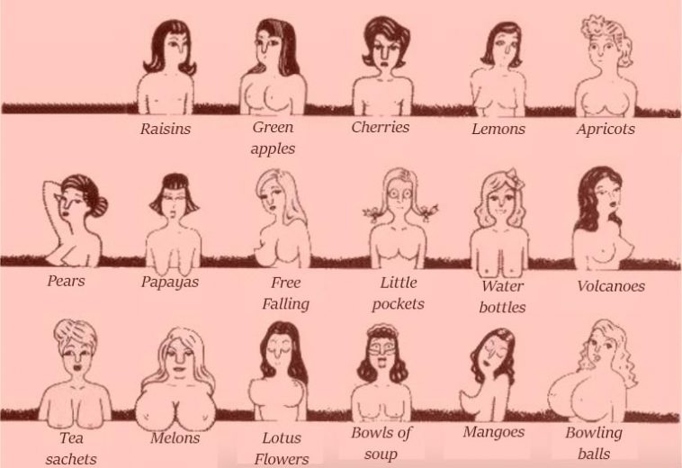 Can look different names for boob pity