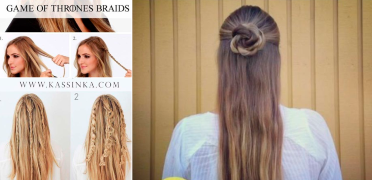 Simple diy hairstyles ☆ best and easy hair style for medium.